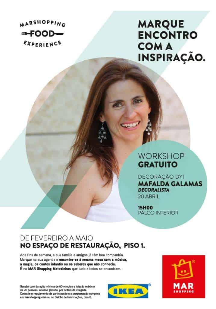 Mafalda Galambas dá dicas de decoração DIY no MAR Shopping Matosinhos