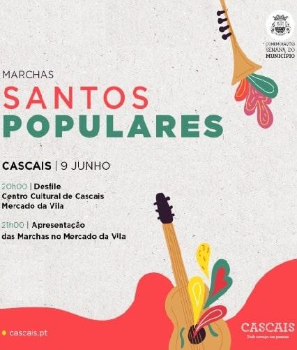 MARCHAS SANTOS POPULARES CASCAIS 2019