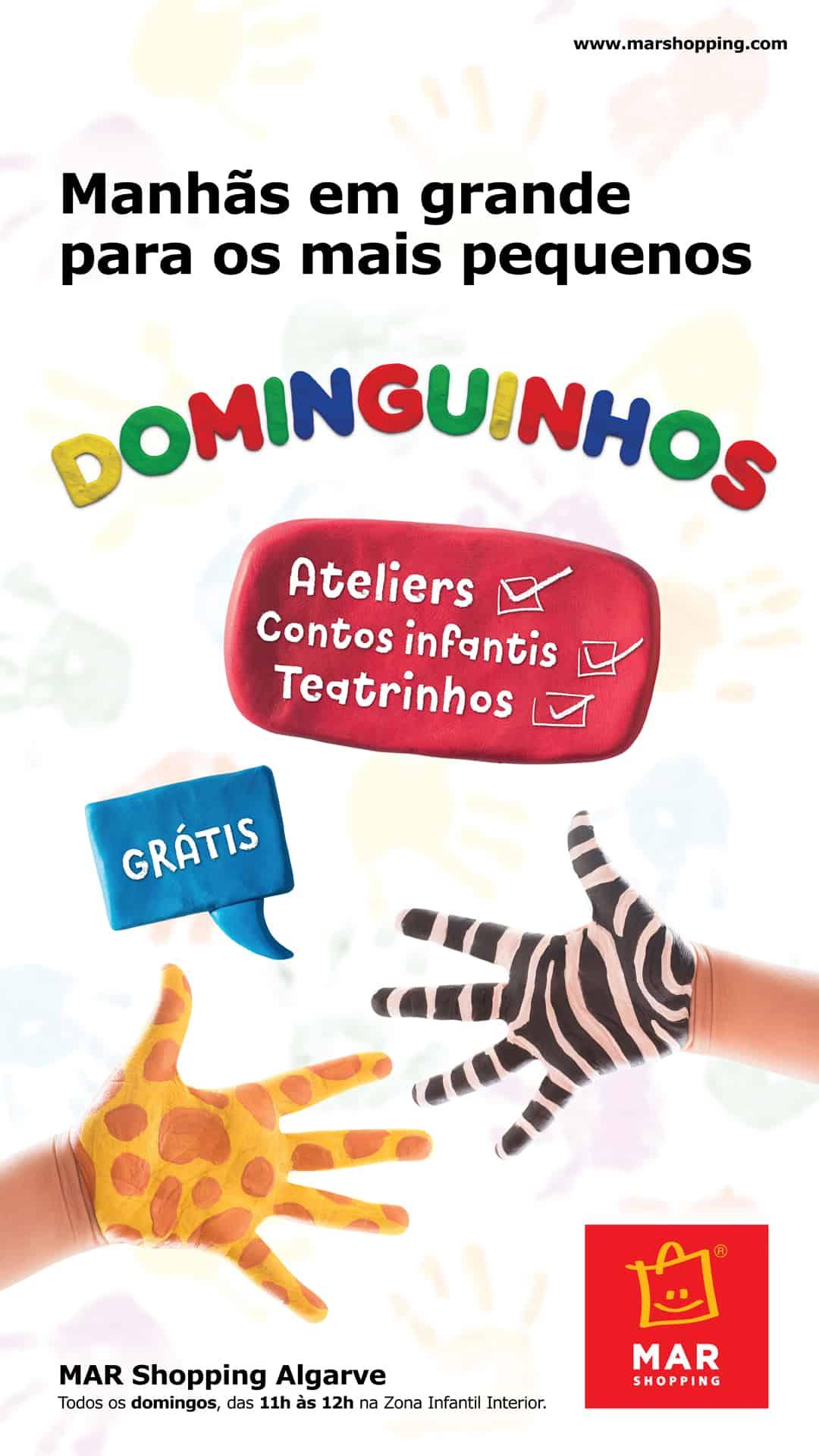 """""""BOO!"""" OS DOMINGUINHOS SABEM PREGAR SUSTOS!"""
