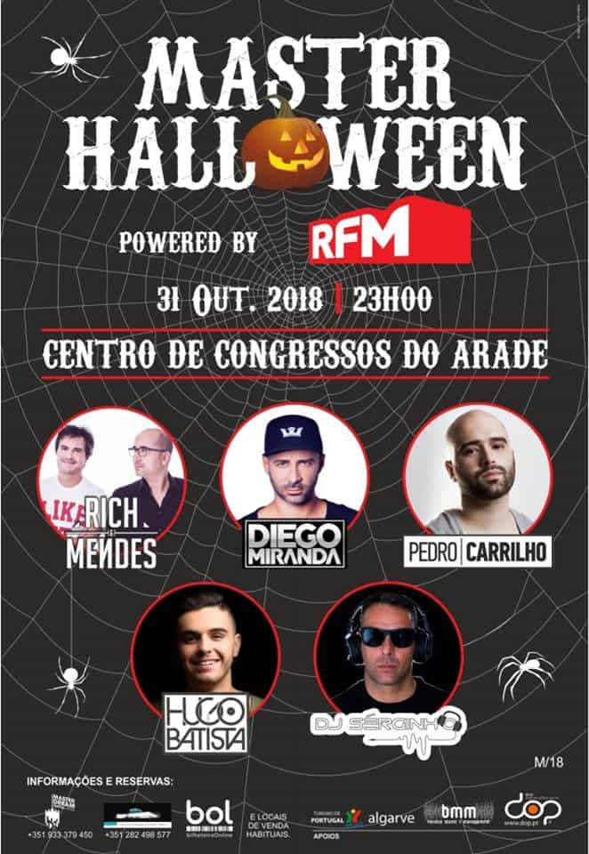 MASTER HALLOWEEN 2018 – POWERED BY RFM