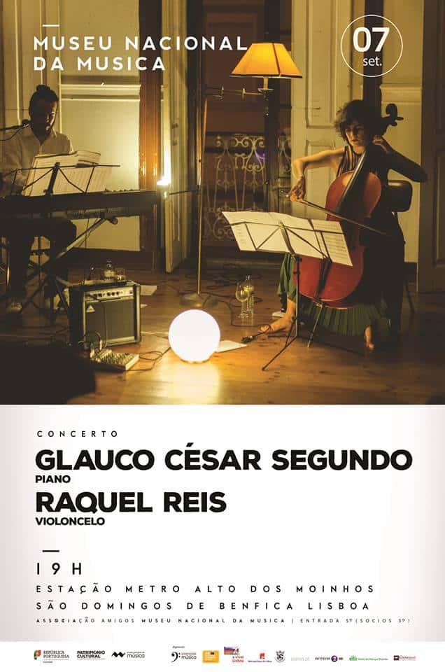 AAssociação dos Amigos do Museu Nacional da Músicaapresenta em concerto Glauco César Segundo & Raquel Reis