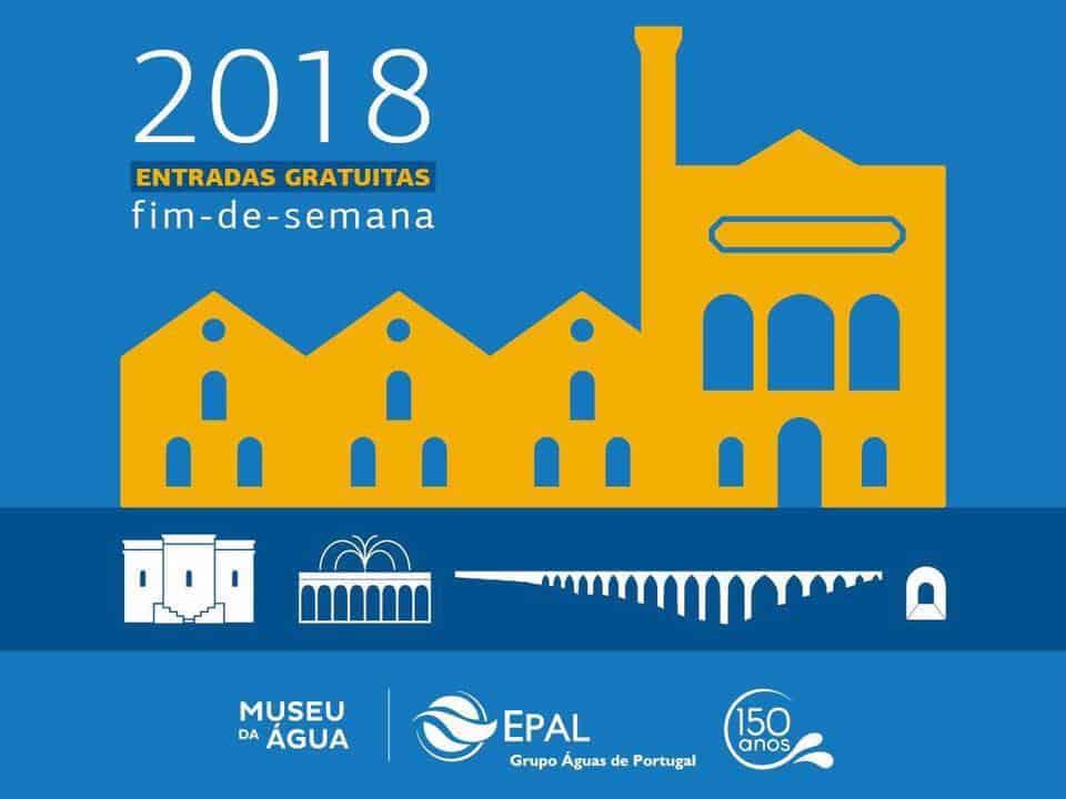 O Museu da Água estará aberto ao público