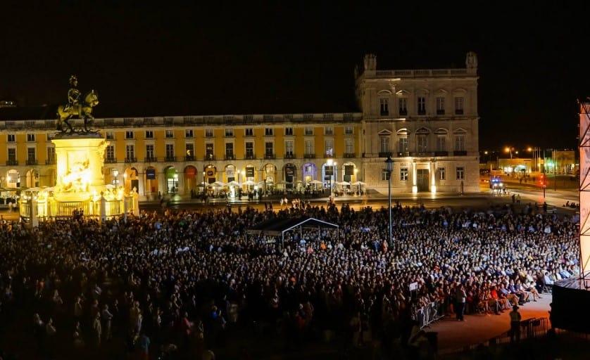 As Festas de Lisboa'18 têm início com um concerto pelaOrquestra Gulbenkian que assim regressa à Praça do Comércio