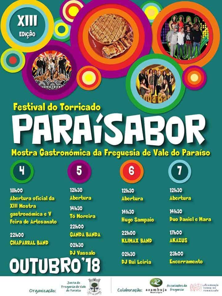 PARAÍSABOR – FESTIVAL DO TORRICADO | VALE DO PARAÍSO