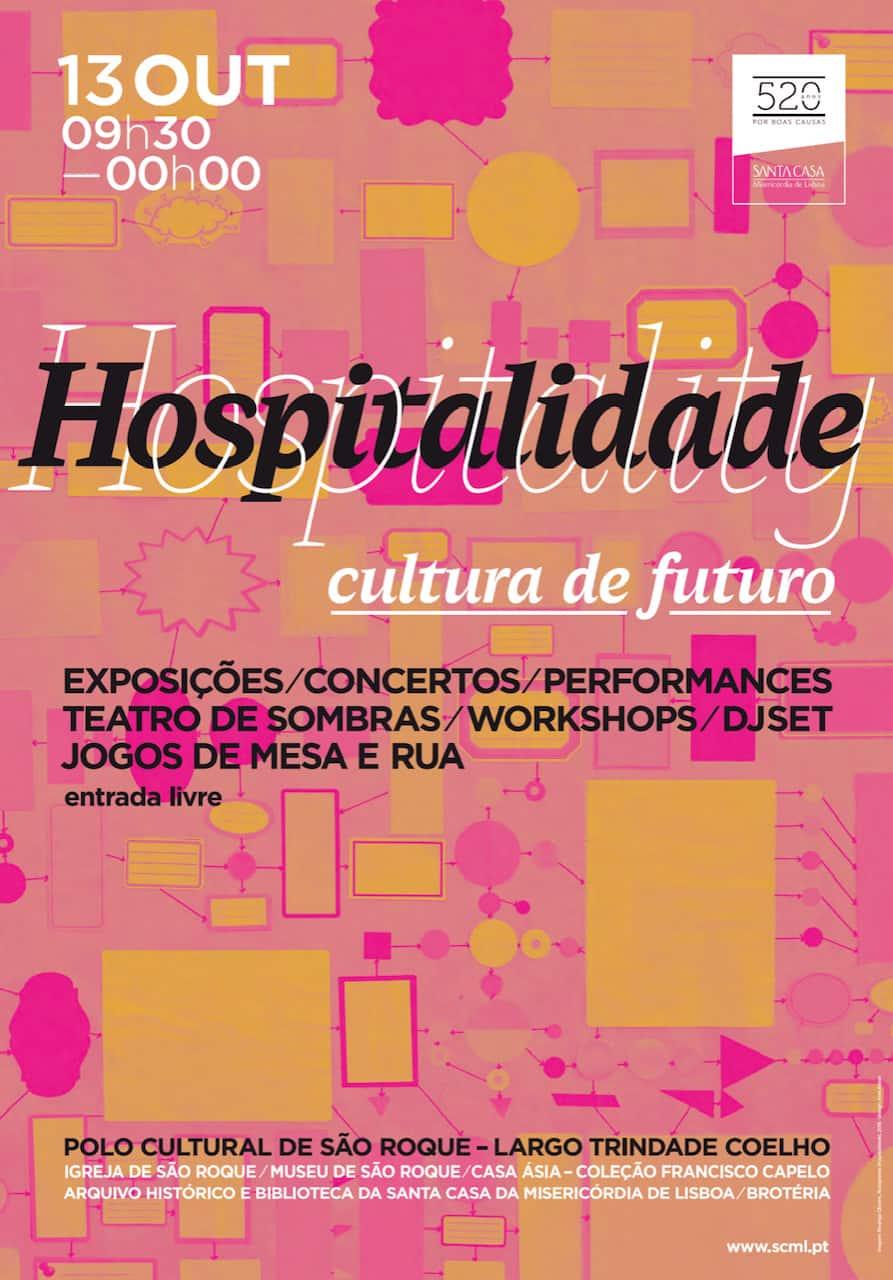 SCML APRESENTA POLO CULTURAL SOB O TEMA HOSPITALIDADE
