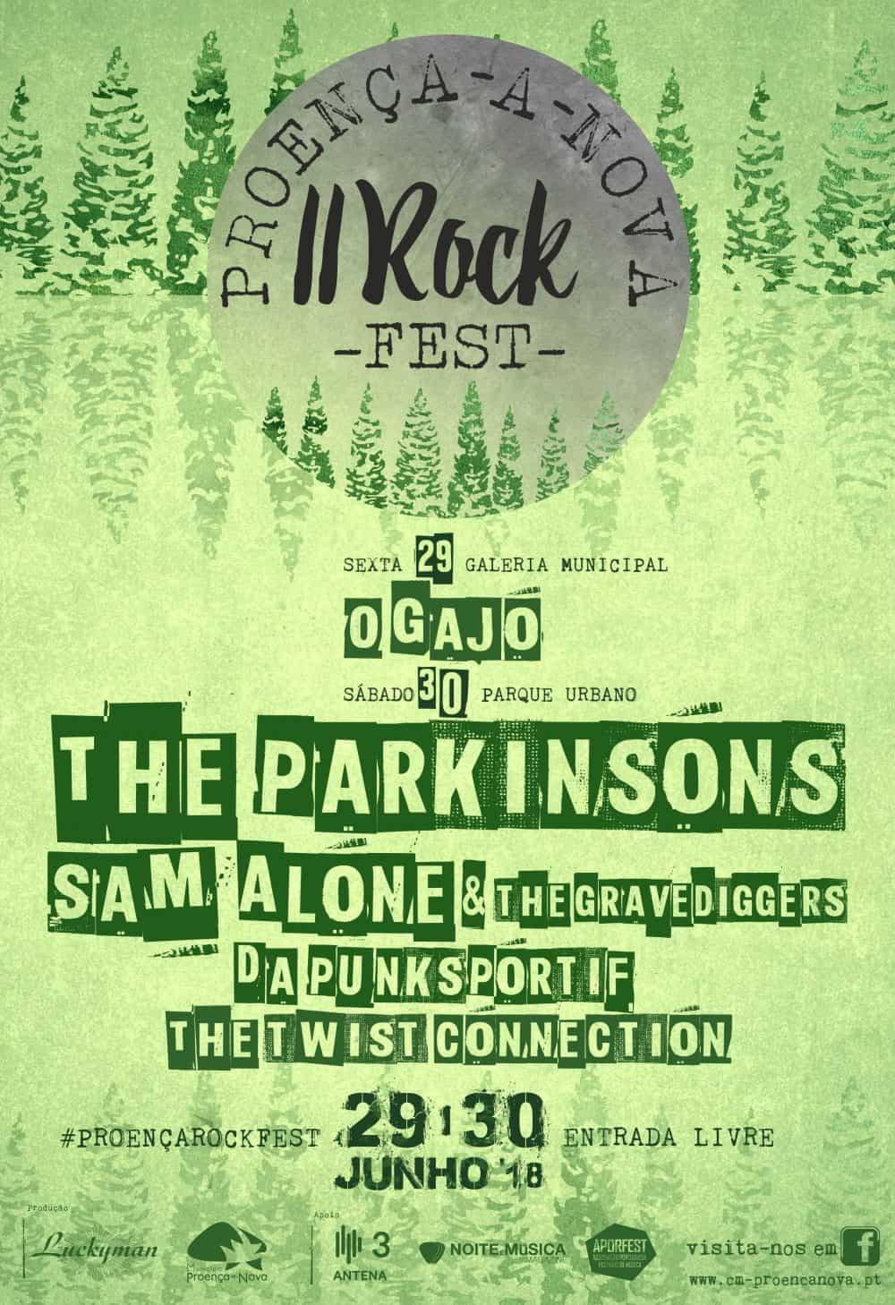 O Proença-a-Nova Rock Fest 2018 abre com o concerto de O Gajo na Galeria Municipal