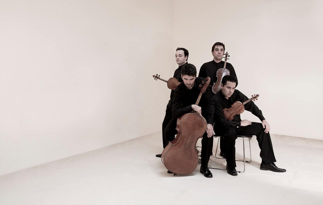 O Quarteto de Cordas de Matosinhosinterpretará no concerto marcado para este sábado