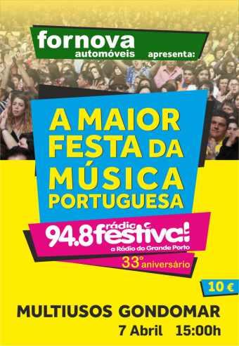 33º ANIVERSÁRIO DA RÁDIO FESTIVAL | GONDOMAR