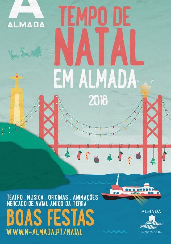 TEMPO DE NATAL EM ALMADA 2018