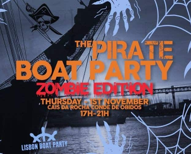THE PIRATE BOAT PARTY – ZOMBIE EDITION 2018