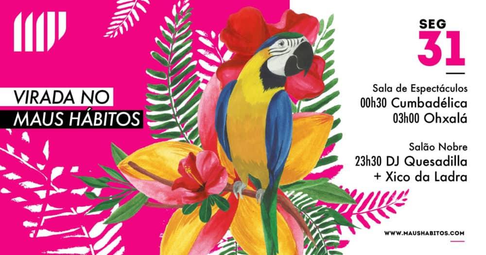 VIRADA NOS MAUS HÁBITOS 2018-2019   PORTO