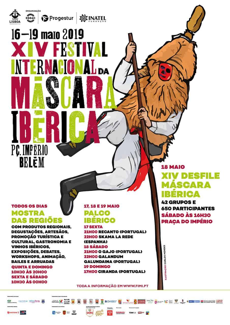 FESTIVAL INTERNACIONAL DA MÁSCARA IBÉRICA – XIV   LISBOA