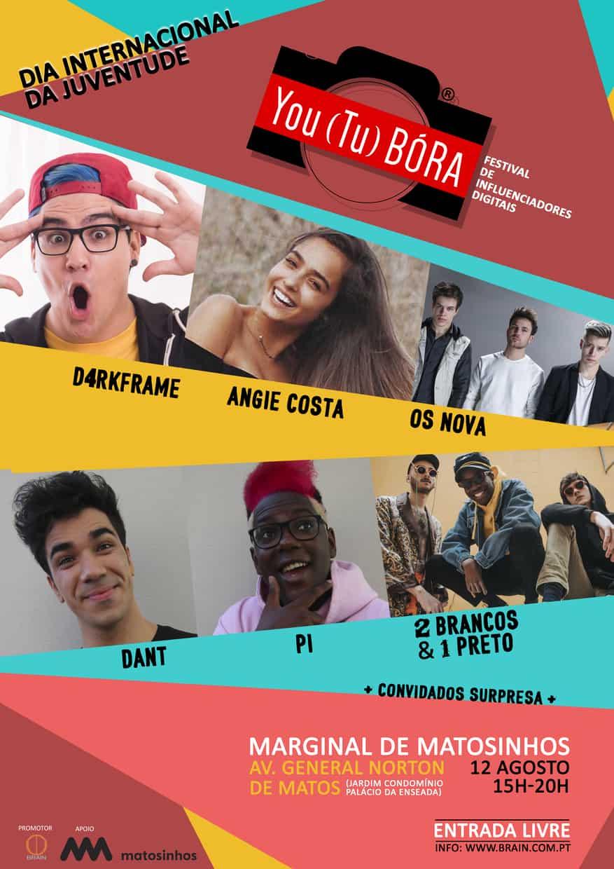 No próximo dia12 de Agosto em Matosinhos(Porto) nasce oYOU(TU)BÓRA!