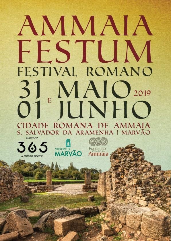 AMMAIA FESTUM – FESTIVAL ROMANO – MARVÃO 2019