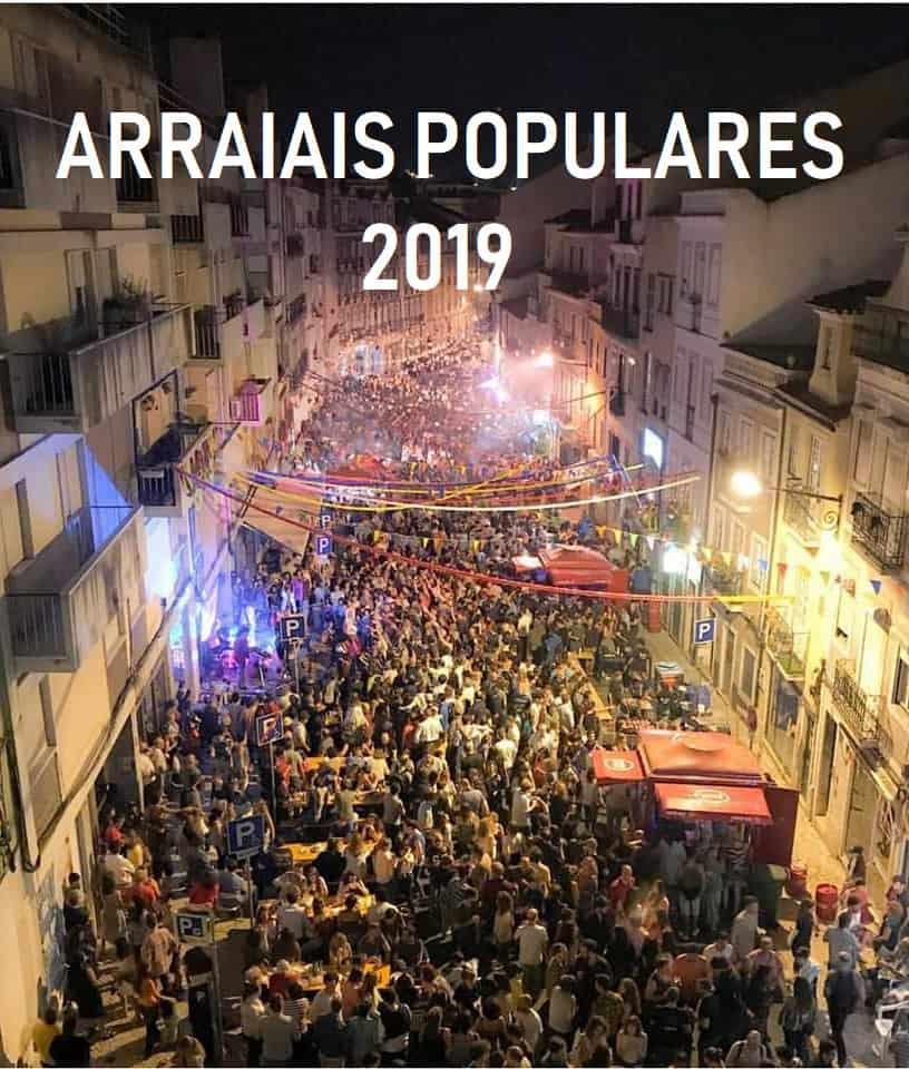ARRAIAIS POPULARES 2019 | SANTOS POPULARES LISBOA