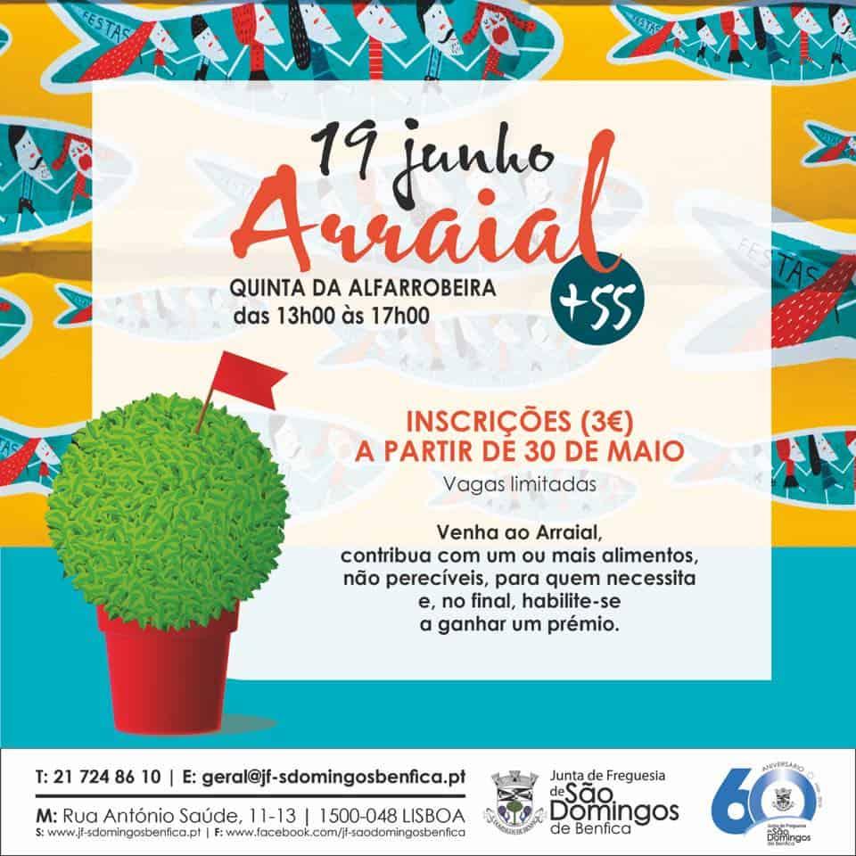ARRAIAL +55 – SÃO DOMINGOS DE BENFICA
