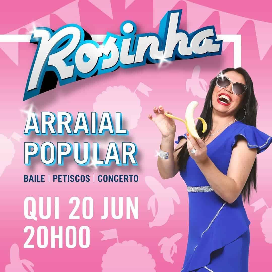 ARRAIAL POPULAR COM ROSINHA NO CASINO DE TRÓIA