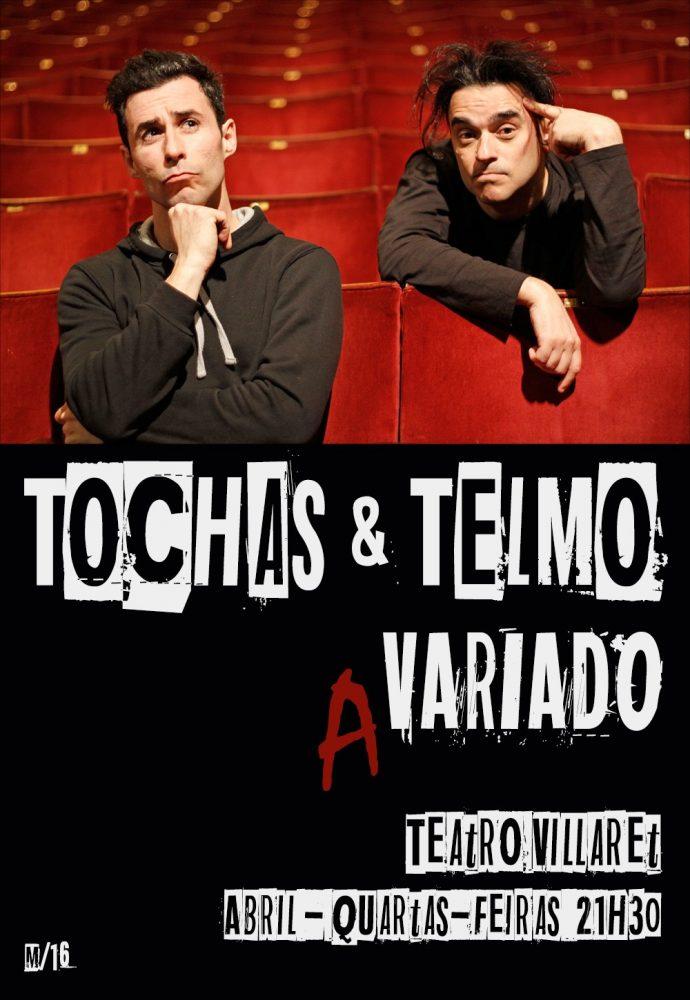 TOCHAS E TELMO (A)VARIADO | TEATRO VILLARET