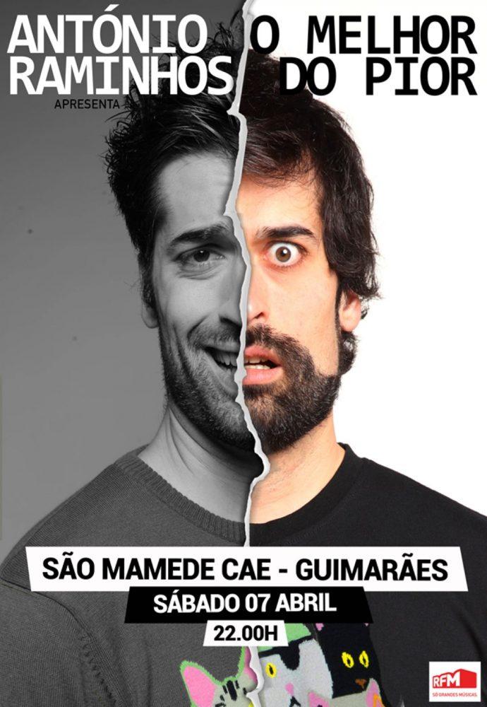 ANTÓNIO RAMINHOS – O MELHOR DO PIOR   CAE SÃO MAMEDE