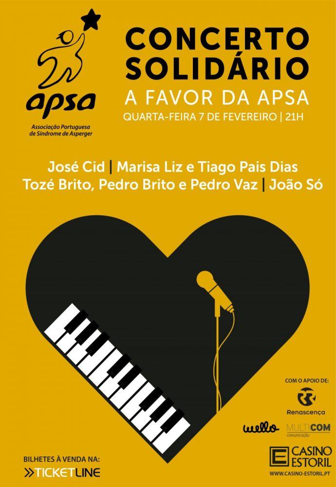 CONCERTO SOLIDÁRIO APSA- ASS.P.SINDROME ASPERGER