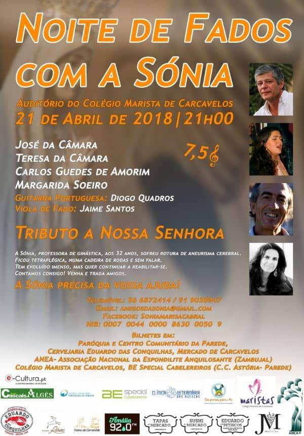 NOITE DE FADOS COM A SÓNIA | COLÉGIO MARISTA CARCAVELOS