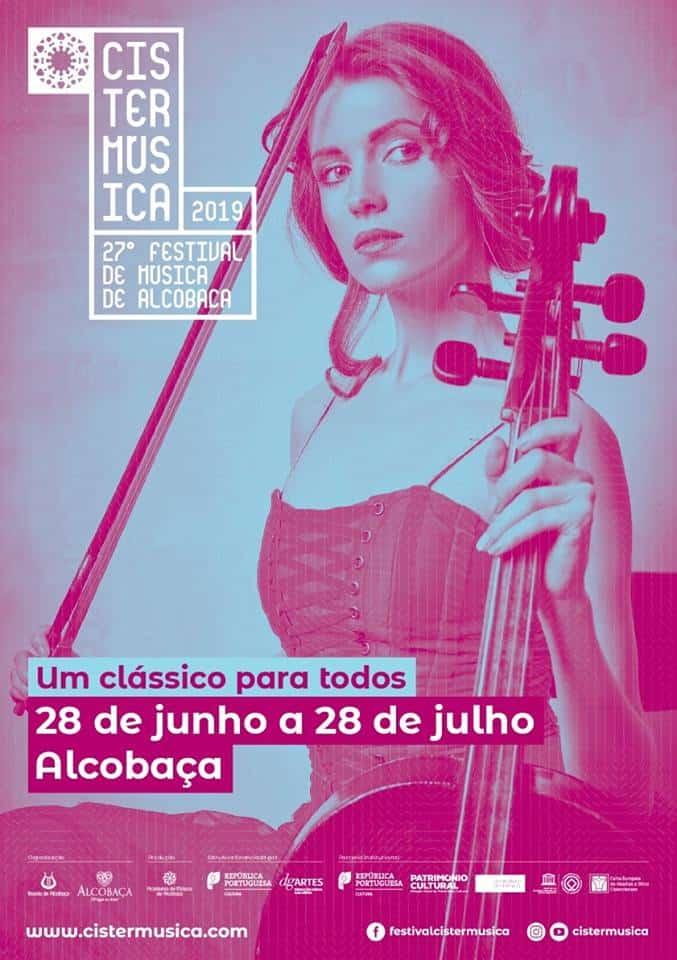 CISTERMÚSICA 2019 – 27º FESTIVAL DE MÚSICA DE ALCOBAÇA