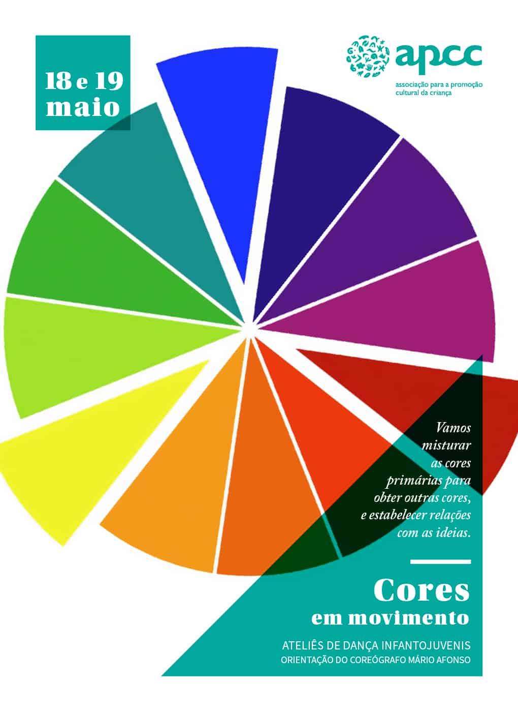 CICLO DE ATELIÊS DE DANÇA – CORES EM MOVIMENTO | APCC