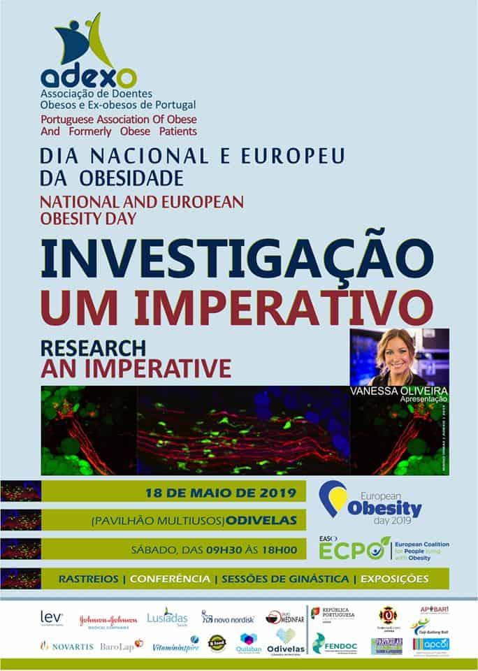 DIA NACIONAL E EUROPEU DA OBESIDADE 2019 – 18 MAIO