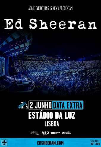 ED SHEERAN | ESTÁDIO DA LUZ – LISBOA 2019