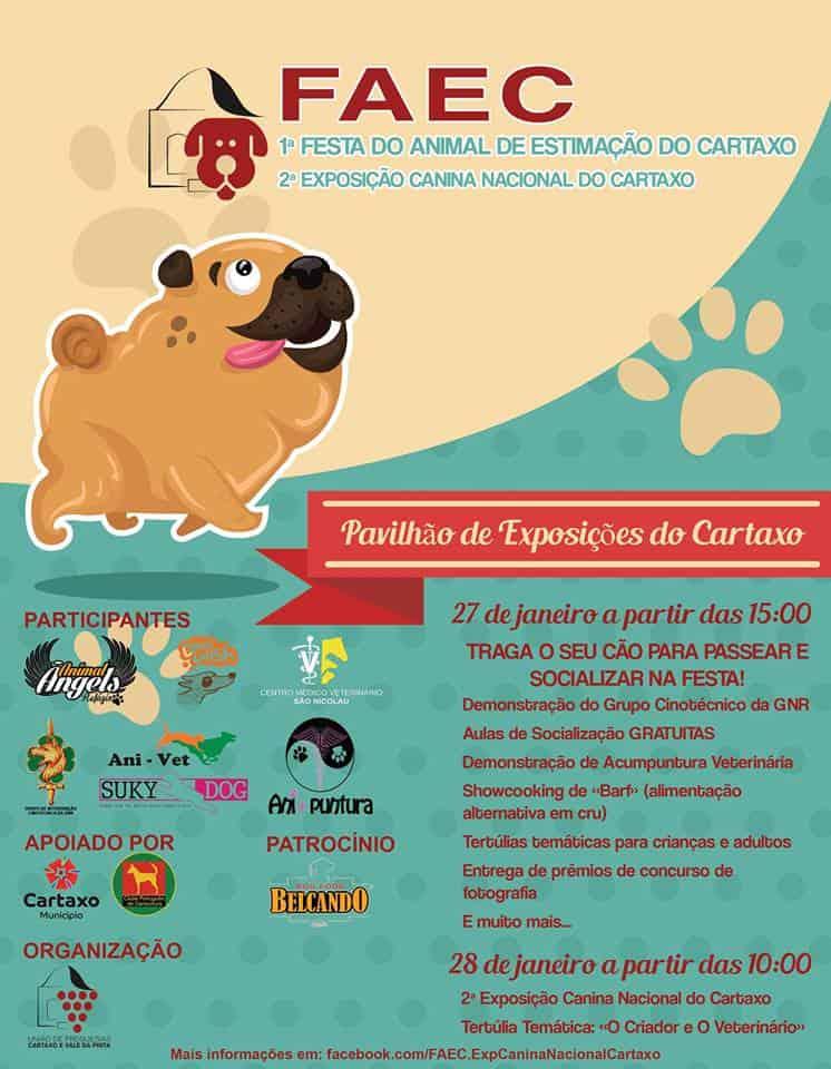 FAEC   1ª FESTA DO ANIMAL DE ESTIMAÇÃO DO CARTAXO