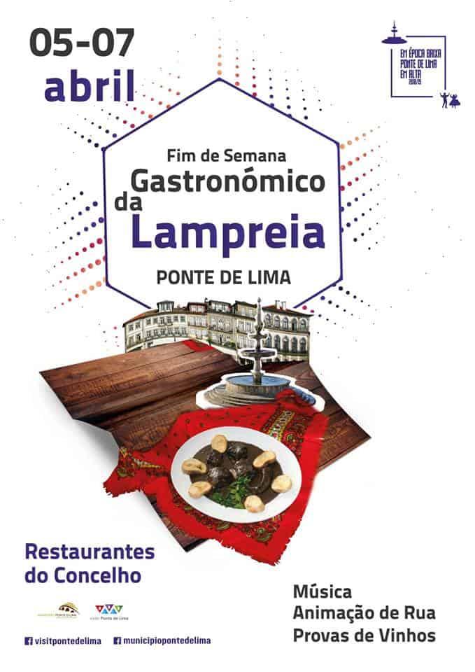 FIM DE SEMANA GASTRONÓMICO DA LAMPREIA – PONTE DE LIMA