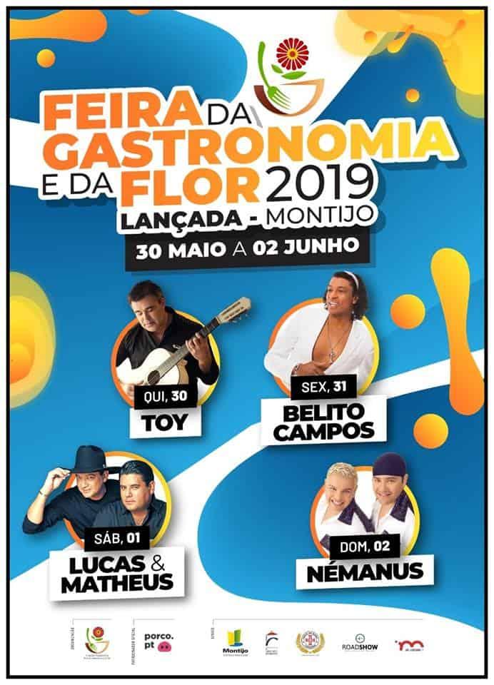 FEIRA DA GASTRONOMIA E DA FLOR DA LANÇADA 2019