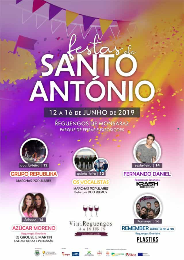 FESTAS DE SANTO ANTÓNIO 2019   REGUENGOS DE MONSARAZ