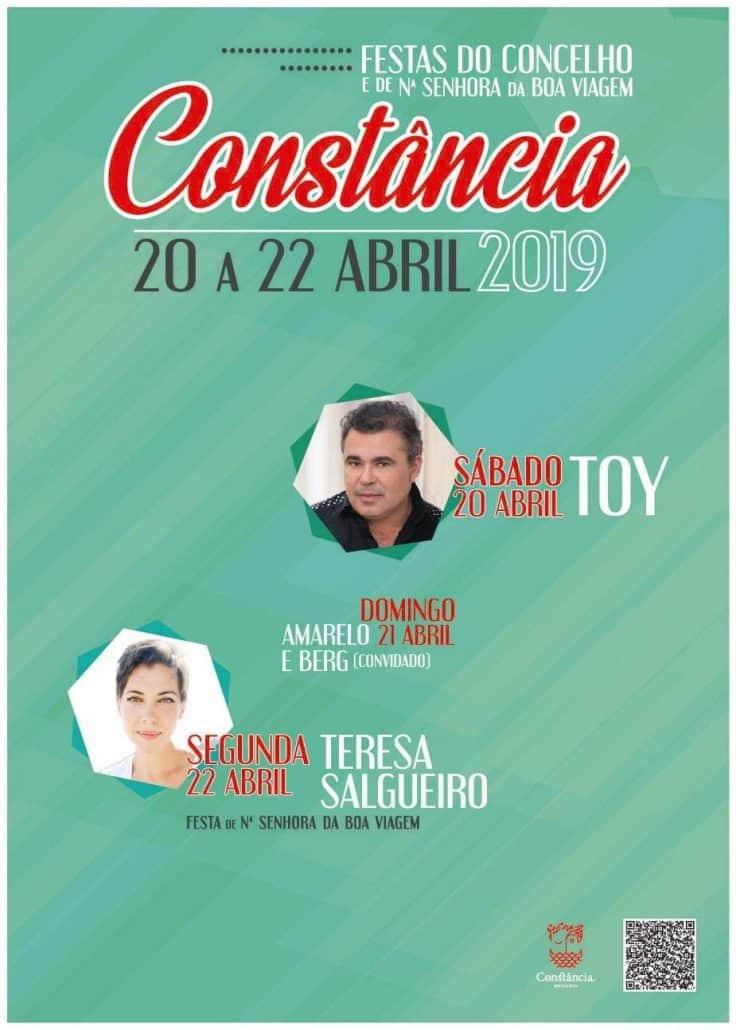 FESTAS DO CONCELHO DE CONSTÂNCIA 2019