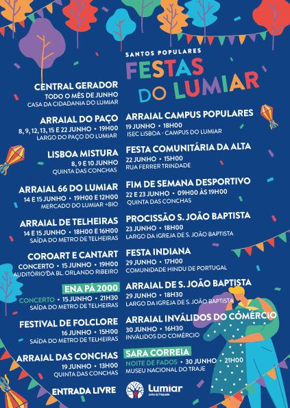 FESTAS DO LUMIAR 2019 | SANTOS POPULARES