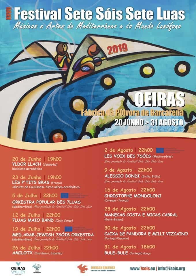 FESTIVAL SETE SÓIS SETE LUAS 2019 | OEIRAS