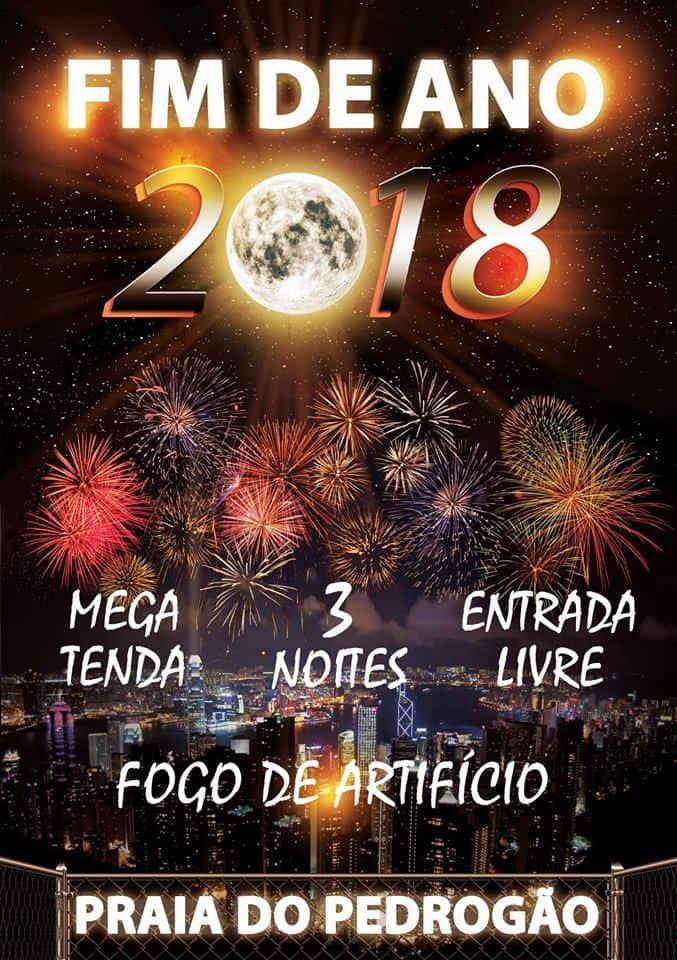 FIM DE ANO 2018-2019 NA PRAIA DO PEDRÓGÃO