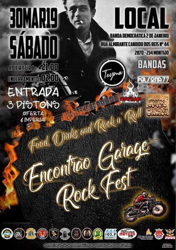 STONES OF BABYLON NO GARAGE ROCK FEST – MONTIJO