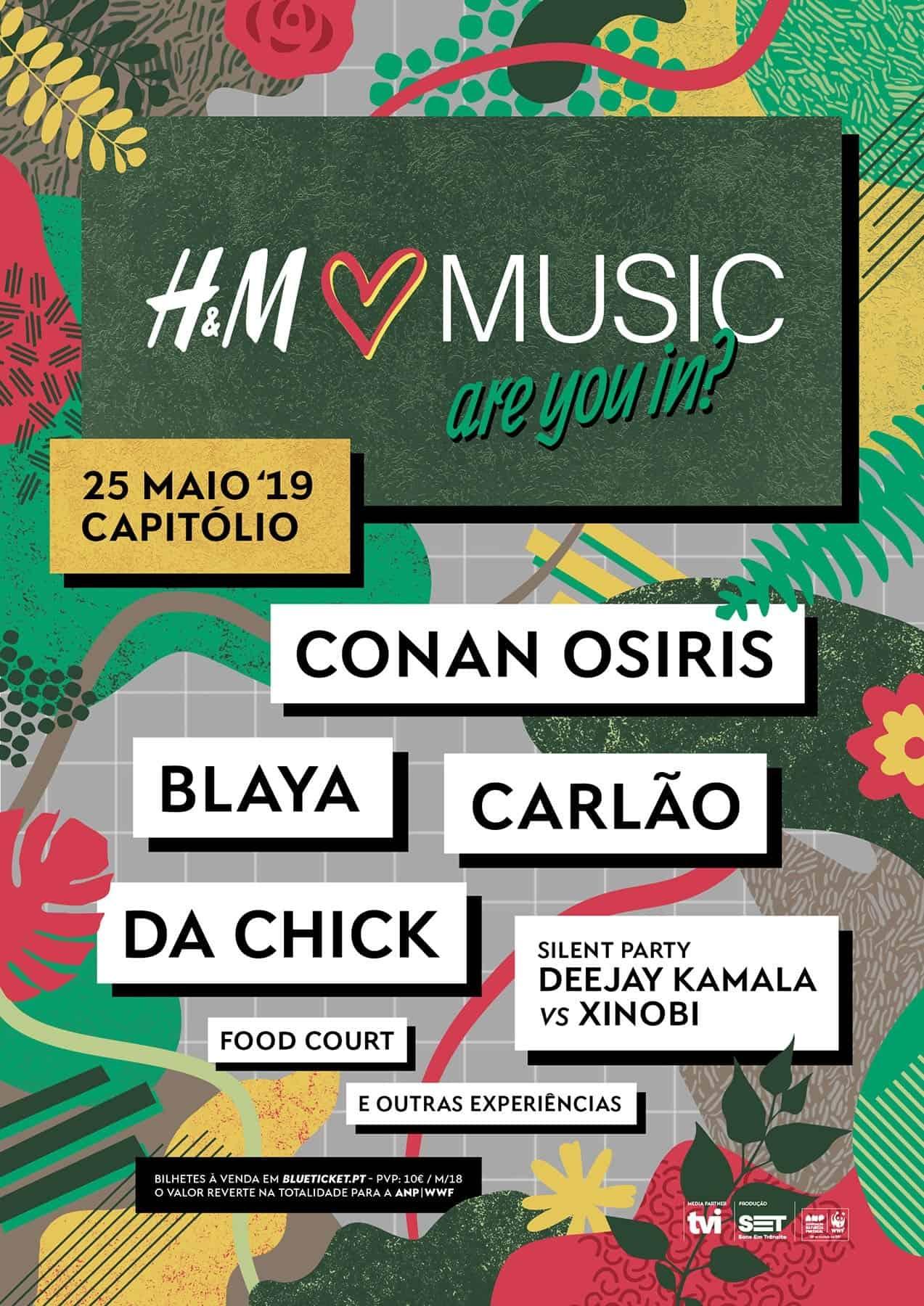 HM LOVES MUSIC 2019 – CAPITÓLIO – LISBOA