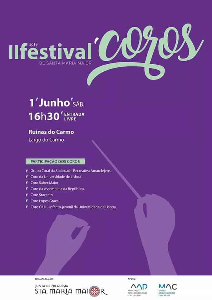 II FESTIVAL DE COROS DE SANTA MARIA MAIOR 2019