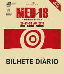 FESTIVAL MED'18 LOULÉ   BILHETE DIÁRIO