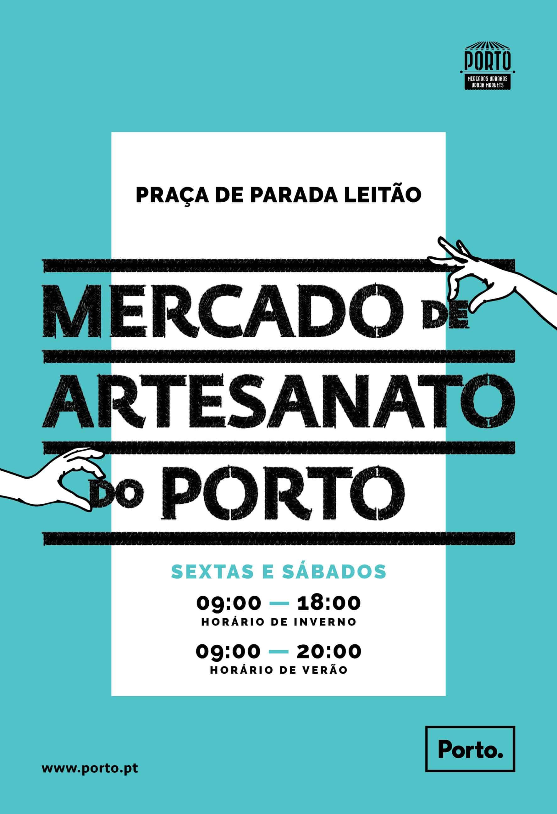 Realiza-se mais uma edição doMercado de Artesanato do Porto