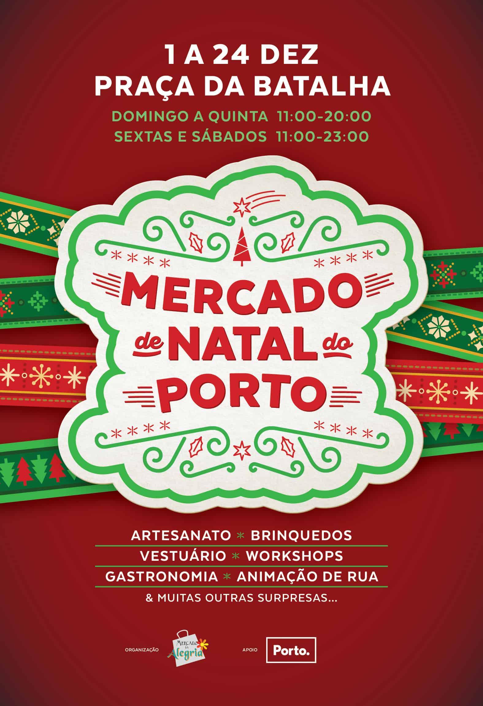 MERCADO DE NATAL 2018 | PRAÇA DA BATALHA – PORTO