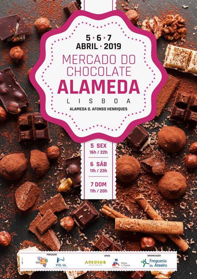 MERCADO DO CHOCOLATE 2019 ALAMEDA – LISBOA