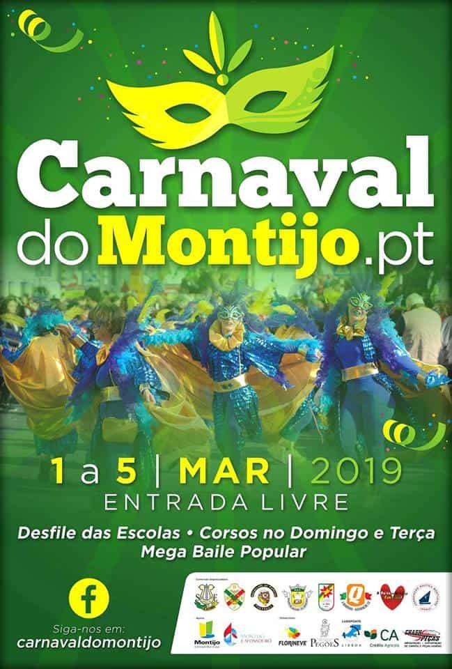 MONTIJO – CARNAVAL 2019   PROGRAMA GERAL