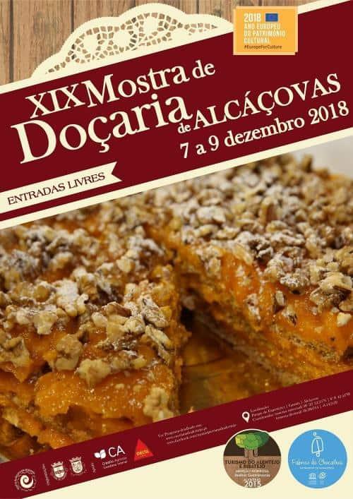 XIX MOSTRA DE DOÇARIA DE ALCÁÇOVAS
