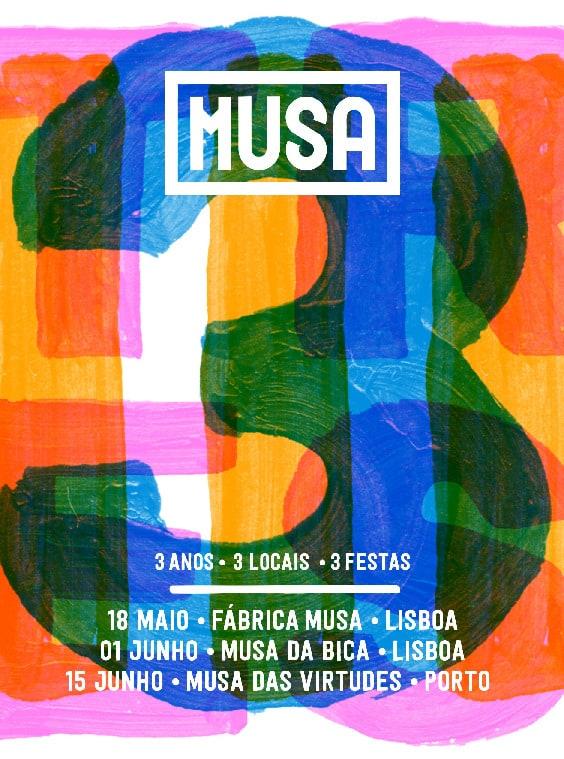 3º ANIVERSÁRIO MUSA – FÁBRICA