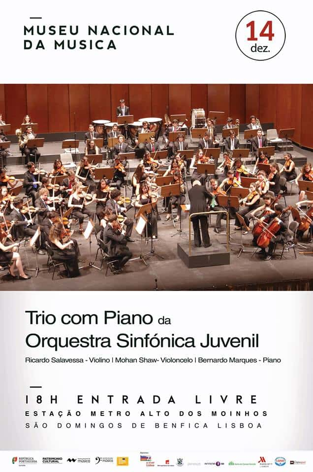 TRIO COM PIANO DA ORQUESTRA SINFÓNICA JUVENIL