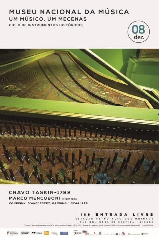 RECITAL NO CRAVO TASKIN DE 1782   MUSEU NACIONAL DA MÚSICA