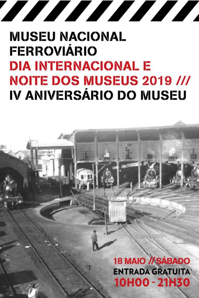 O Museu Nacional Ferroviário assinala